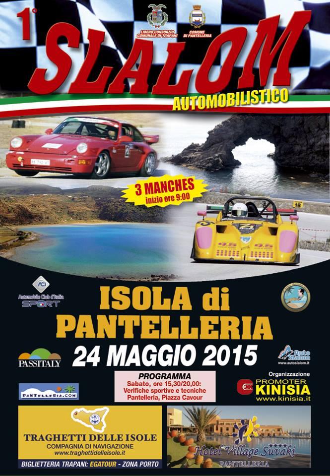 Passitaly Isola di Pantelleria: 1° slalom automobilistico 24 maggio 2015